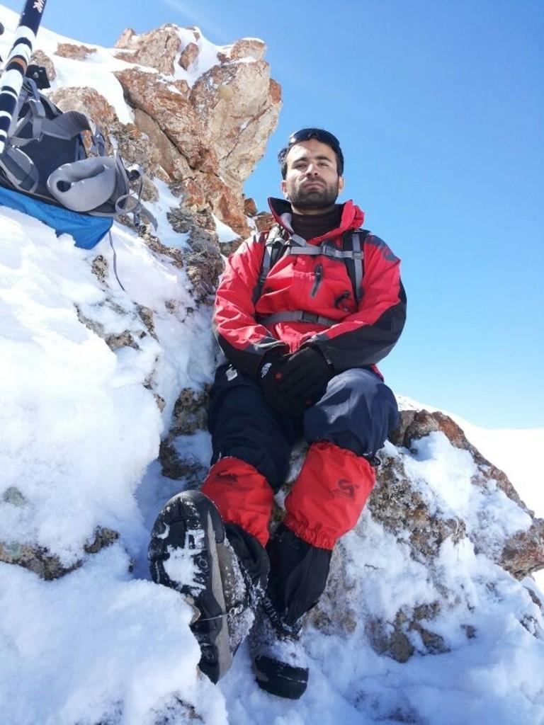 قله اشتر گرمابدر