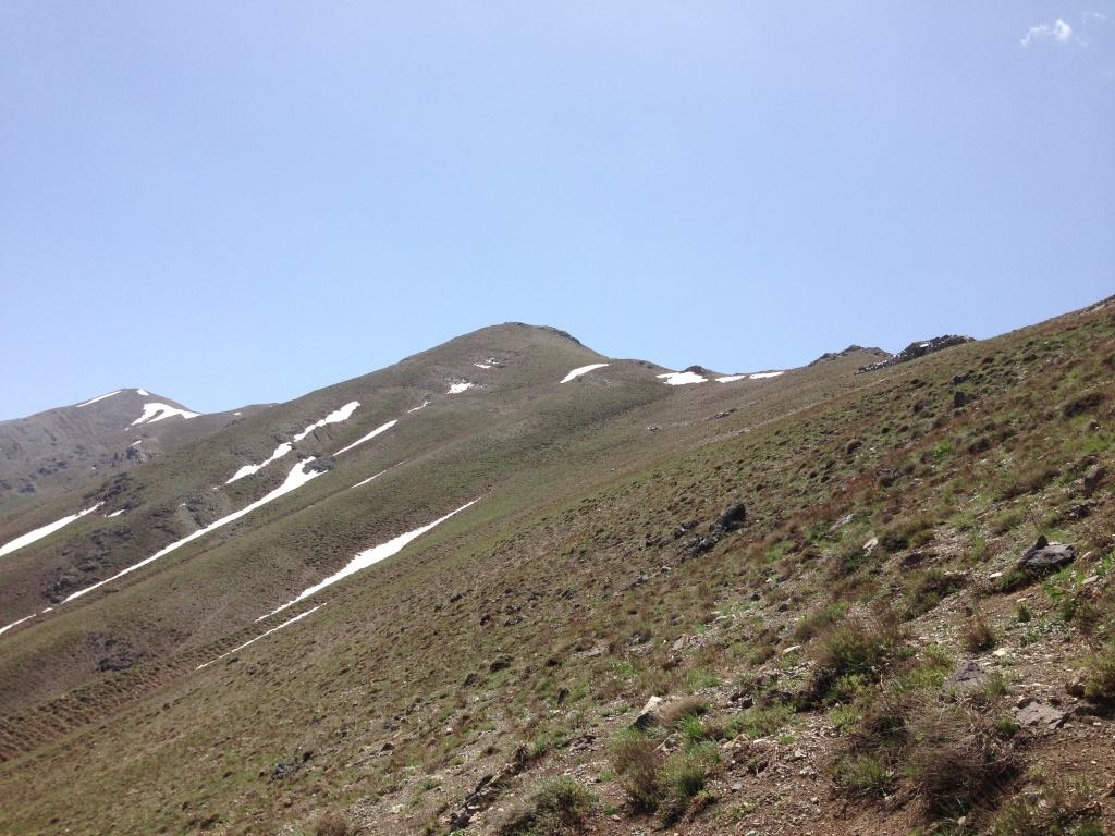 یال صعود به قله منار