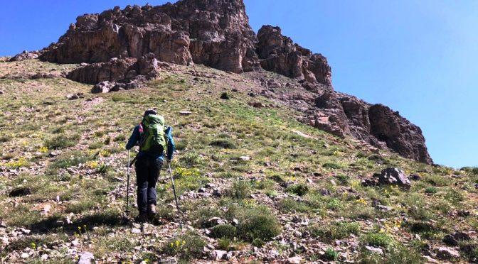 صعود به قله آبک از میگون و بازگشت از شمشک، ۳۰ خرداد ۹۹